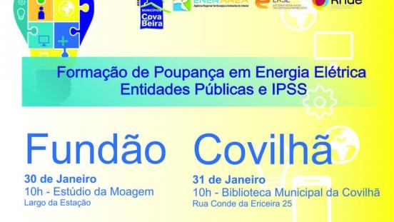 Inicio das Formações em Poupança de Energia Elétrica em Entidades Públicas e IPPS